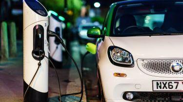 联盟议会的电动汽车收费点发布