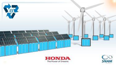 """本田揭示了""""第二寿命""""电动车电池回收计划"""