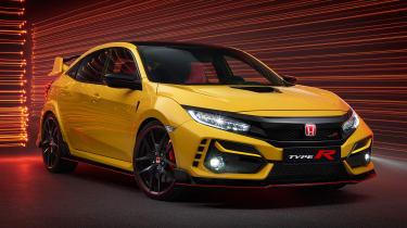 新的2020 Honda Civic类型R:英国价格显示更新阵容