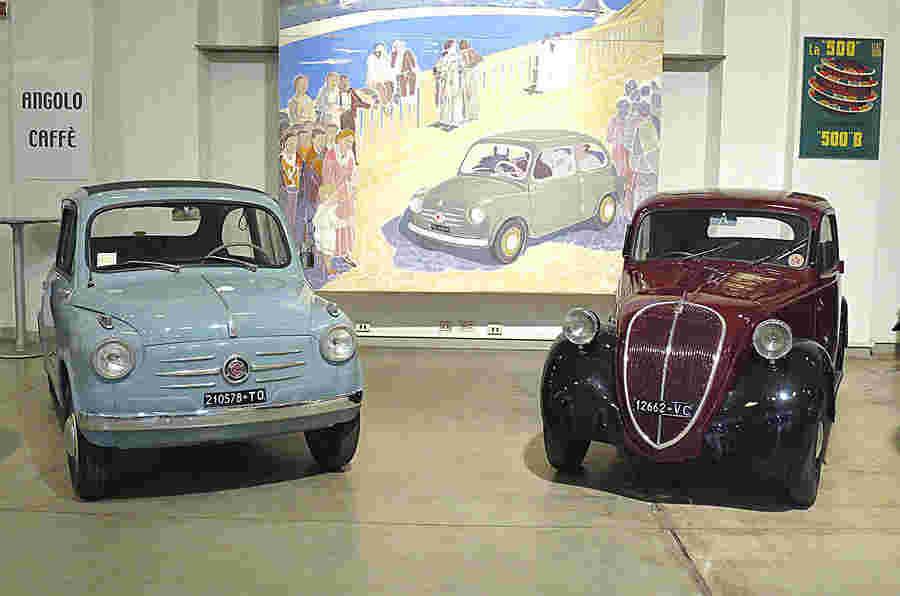 内部菲亚特的秘密汽车博物馆 - 图片库