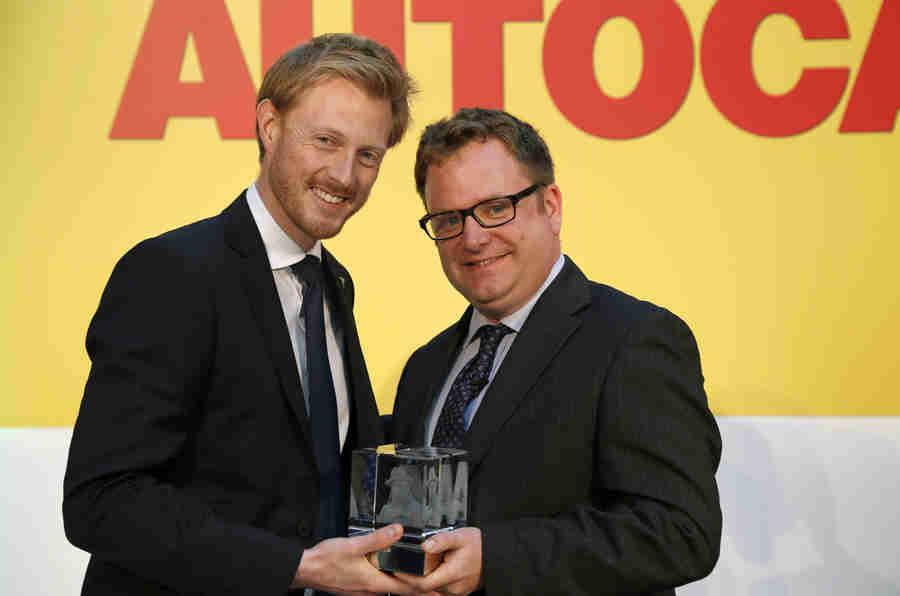 特斯拉展示了Autocar的新Sturmey创新奖