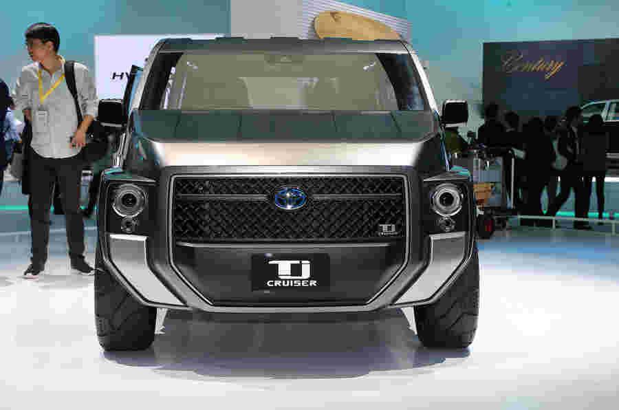 丰田TJ巡洋舰概念提示在潜在的新坚固耐用的生活方式SUV