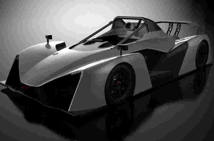 Revolution RaceCars推出750kg V6动力轨道车
