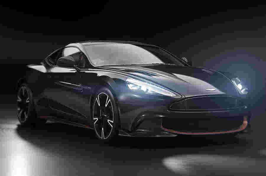 Aston Martin Vanquish的终极揭示为天鹅歌曲模型