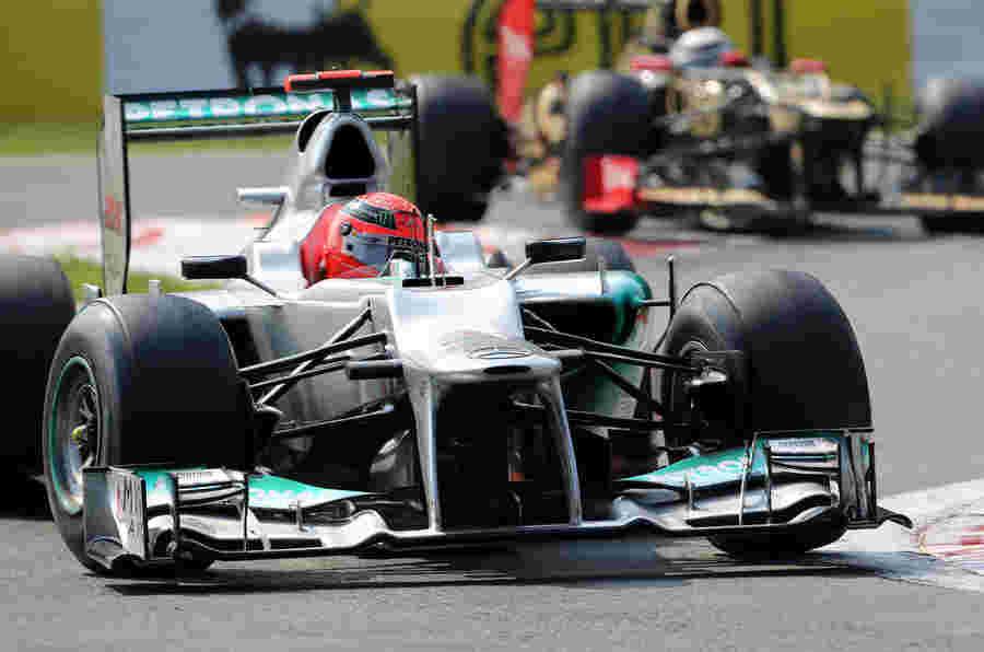 梅赛德斯F1 BOSS向Michael Schumacher致敬
