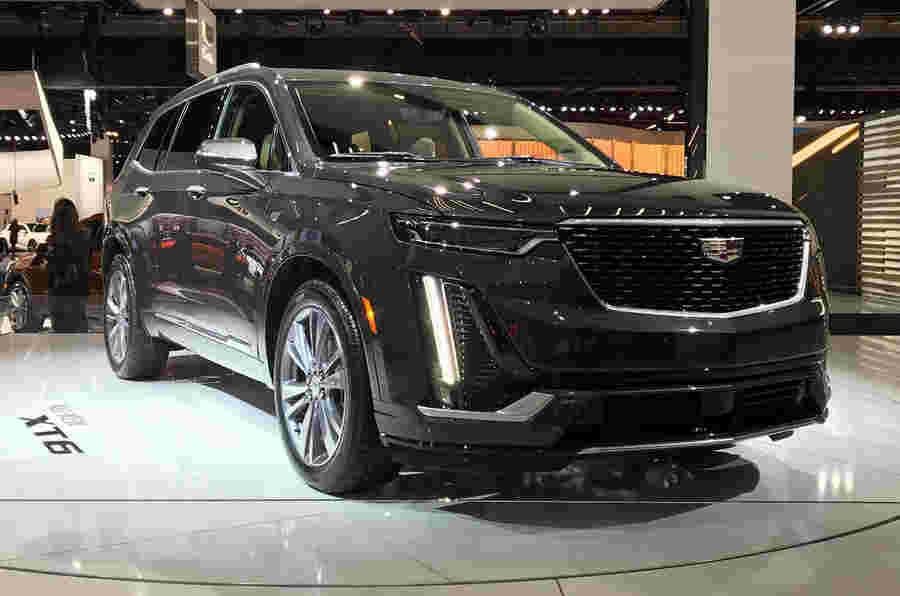 凯迪拉克在底特律推出新的XT6大型SUV