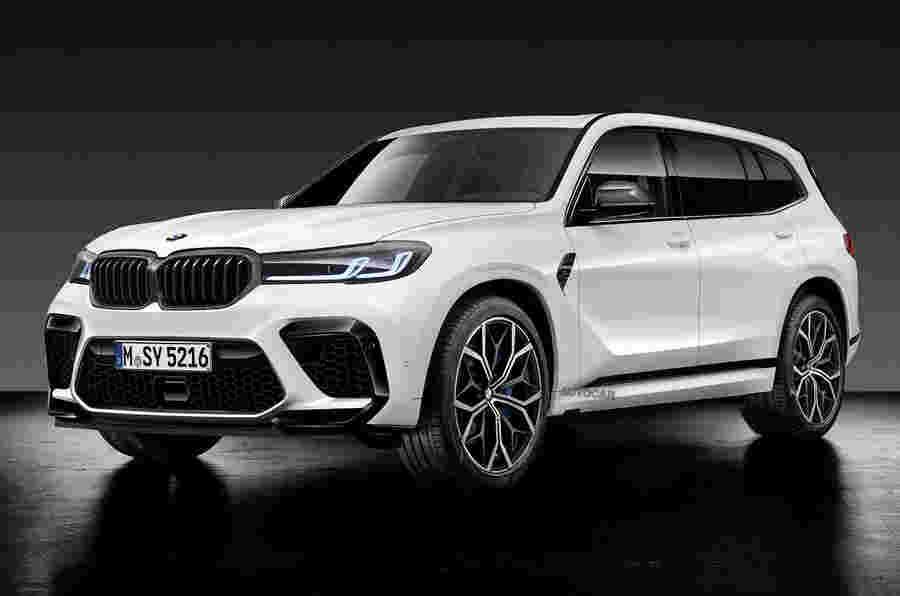 2022 BMW X8 M倾向于获得750bhp混合v8
