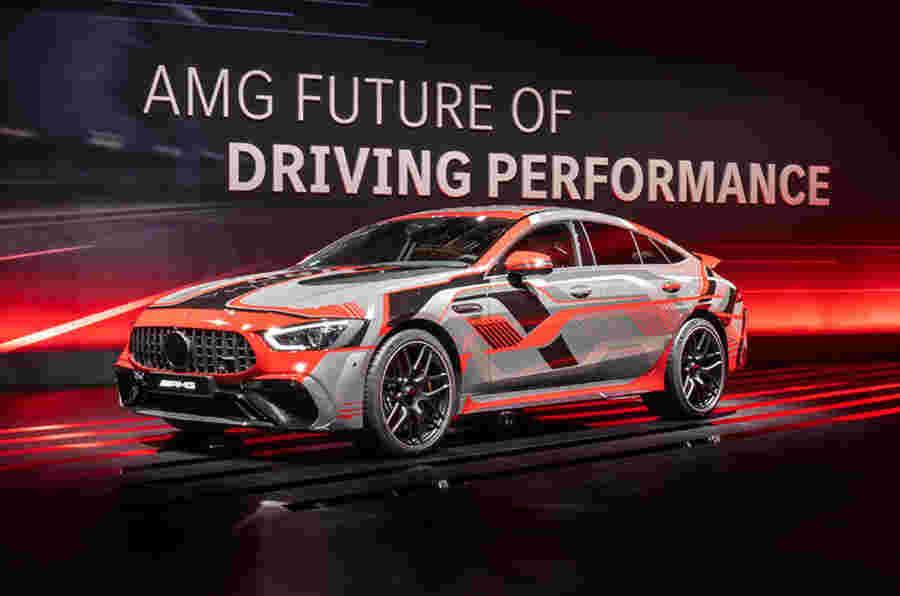 梅赛德斯-AMG揭示了新的Phev技术,承诺800bhp-plus