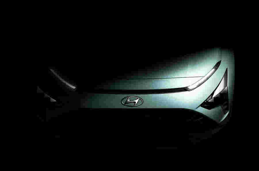 新的2021 Hyundai Bayon Crossover明天透露