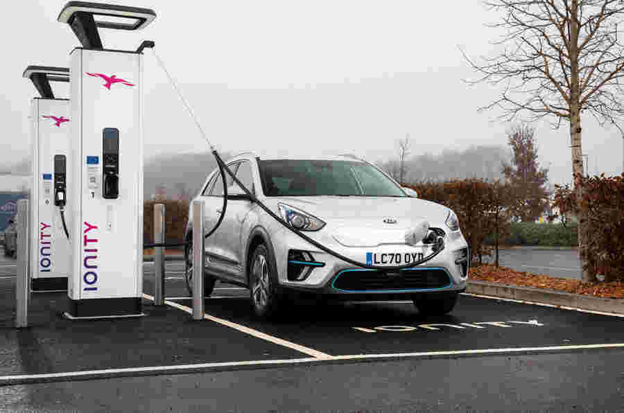 KIA推出EV充电服务,占英国68%的网络