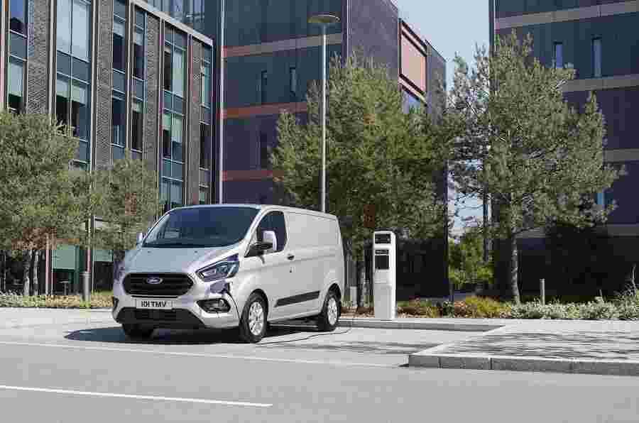 2023 Ford Transit Custom,VW Transporter获得EV版本