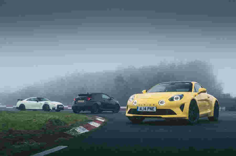出于特色的汽车:日产NISMO GT-R VS TOYOTA GR Yaris VS ALPINE A110