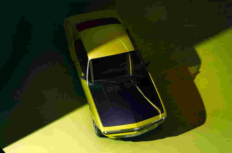 欧宝Manta GSE Elektromod是工厂生产的经典EV