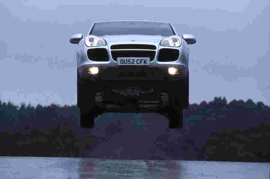 Autocar如何成为Porsche Cayenne Fly,如飞行员所说
