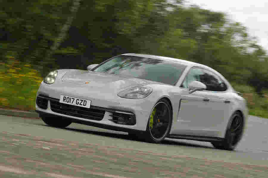 Porsche Panamera可以在泰克山上生存进入电力时代