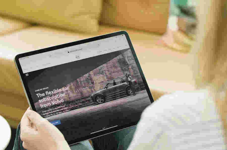 在行业内:沃尔沃显示订阅模式可以为汽车工作
