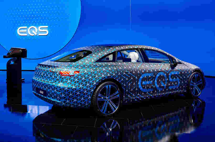 新的梅赛德斯EQS包S级技术,是大多数航空效率的汽车