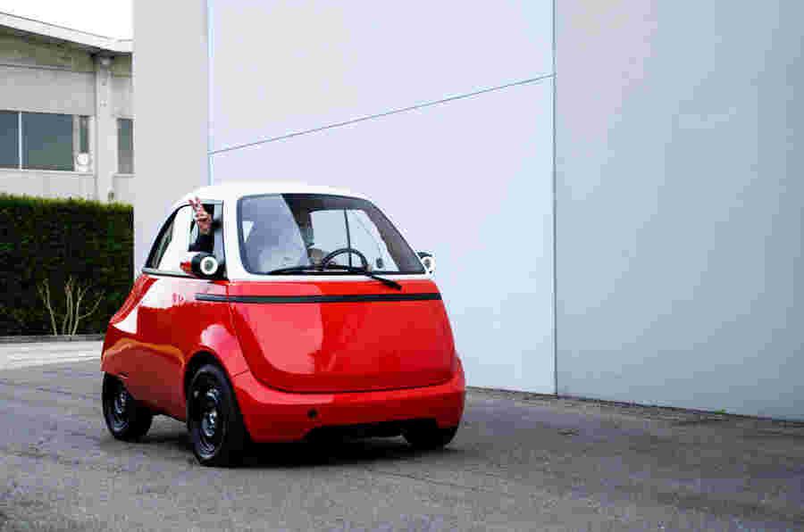 Microlino双座EV进入生产125英里的距离
