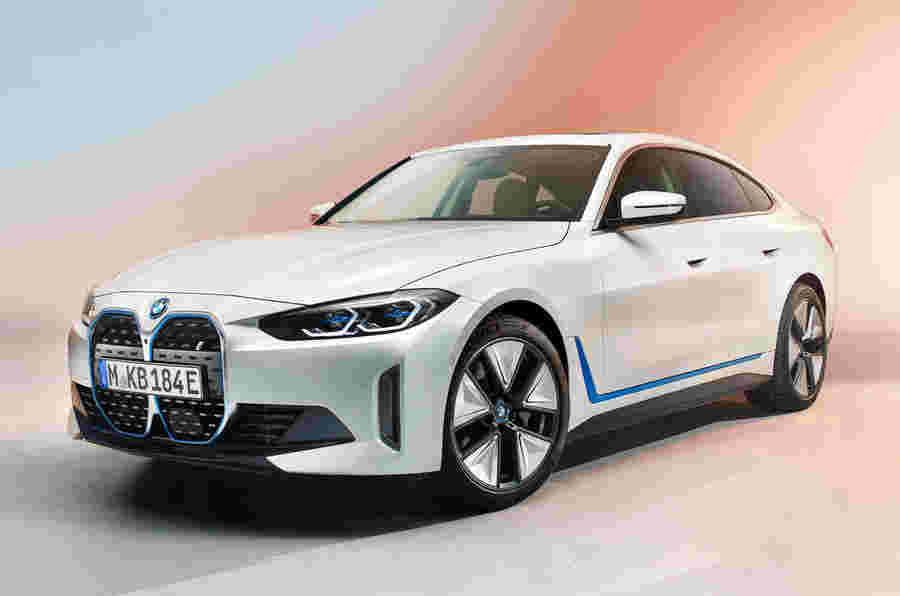 新的2021 BMW I4:秋季销售的生产模型